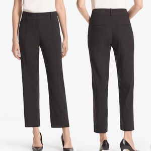 NWT MM Lafleur Chester Pant Stretch Linen Black 8